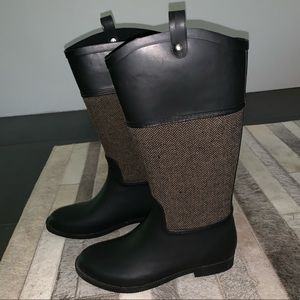Merona Women's Fashion Rain Boots - Size 6 - EUC